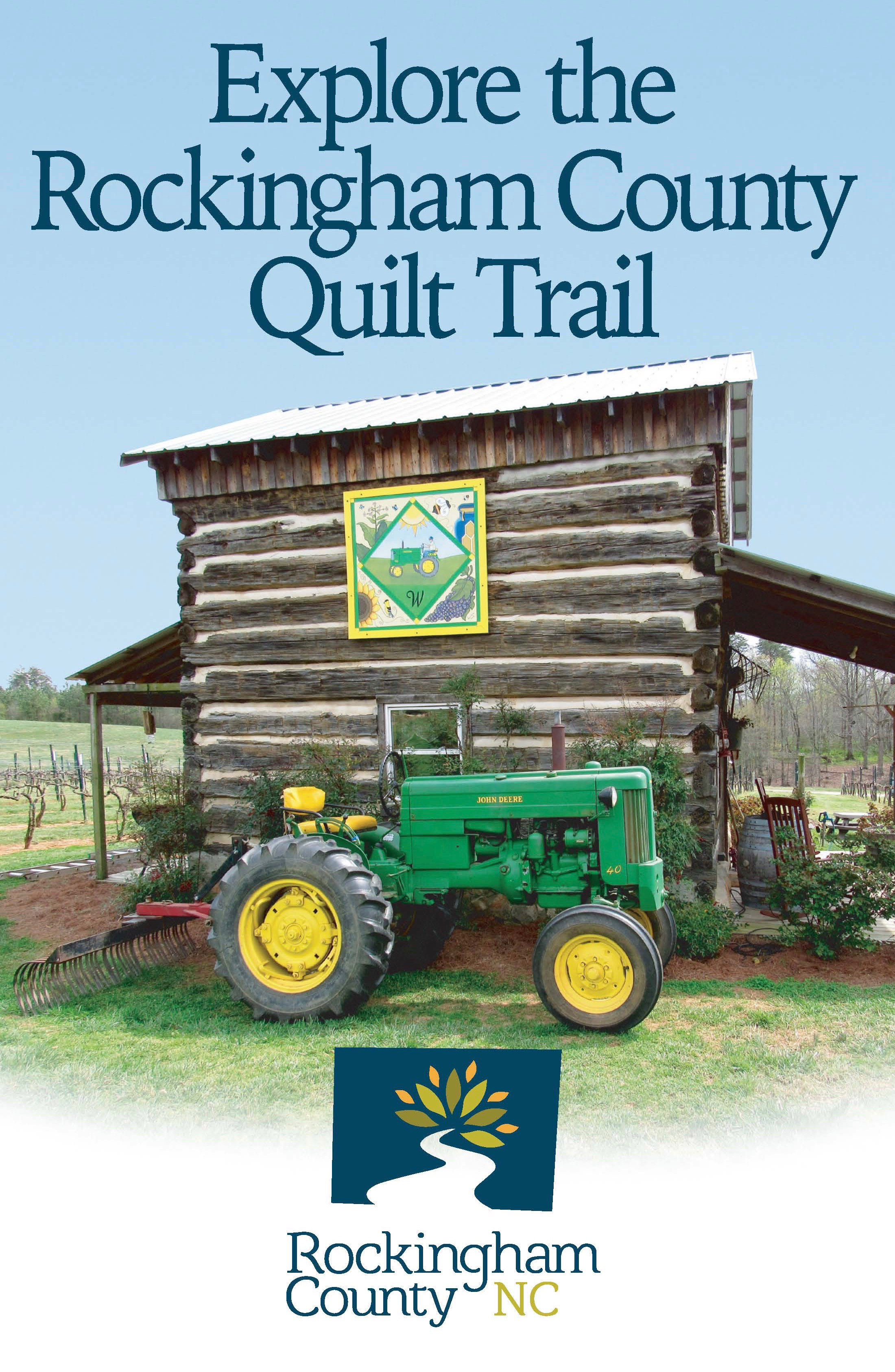Rockingham County, NC Quilt Trail map
